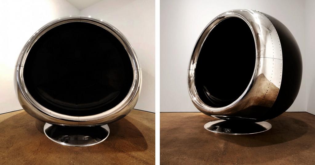 737 Cowling Chair: scaunul fabricat din piesele unui avion