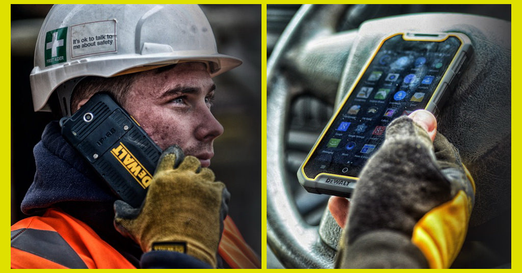 DeWalt MD501 este un smartphone de top, dar rezistent