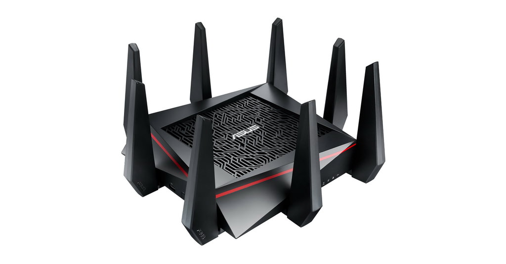 Asus RT-AC5300 – un router rapid cu design modern