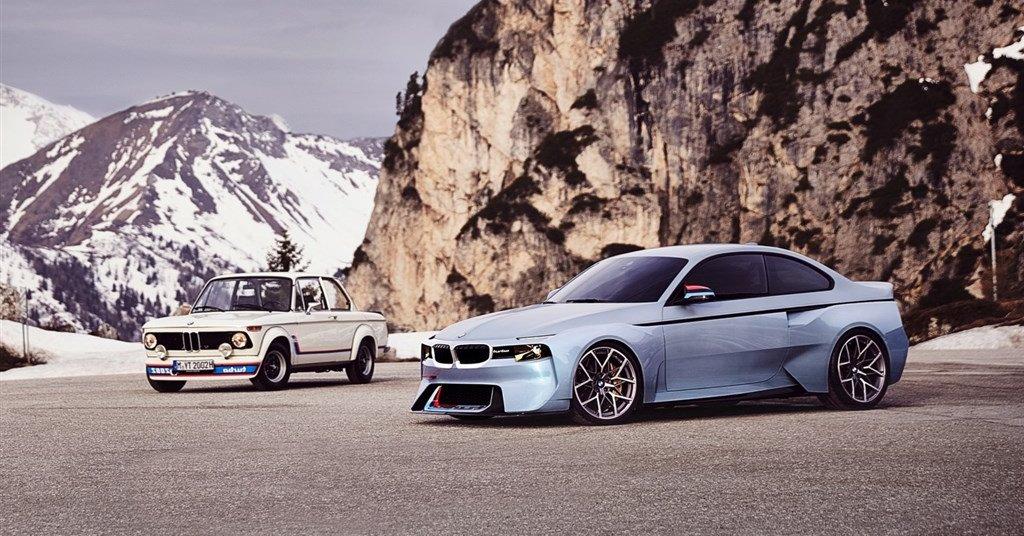 BMW 2002 Hommage – reinterpretarea unui model clasic