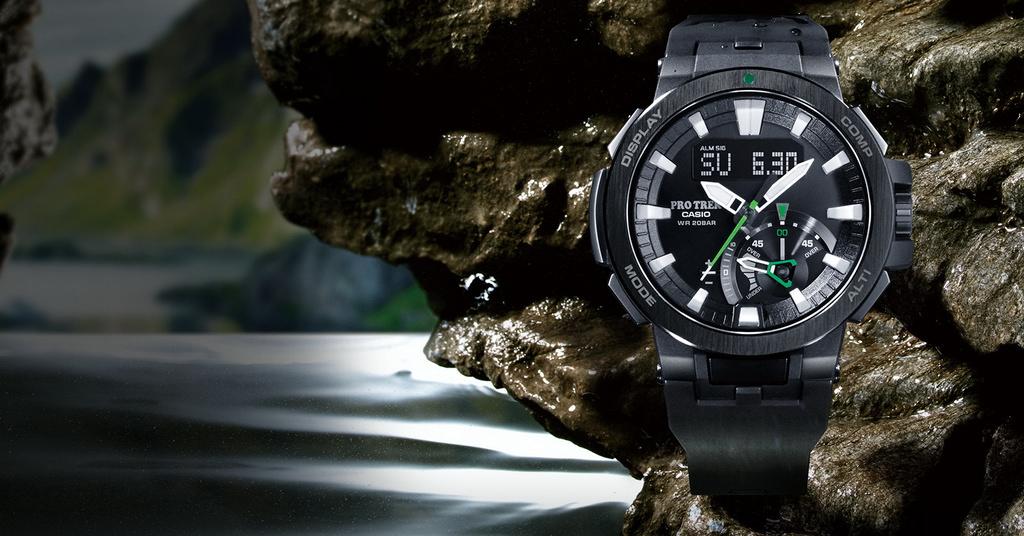 Ceasul exploratorilor: Casio PRO TREK PRW-7000