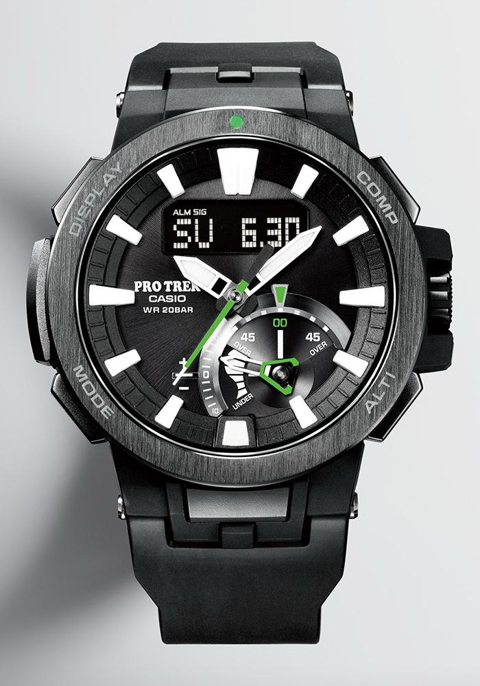 ceas analog casio pro trek prw 7000