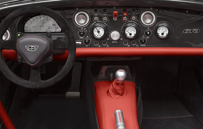 donkervoort d8 gto-rs interior