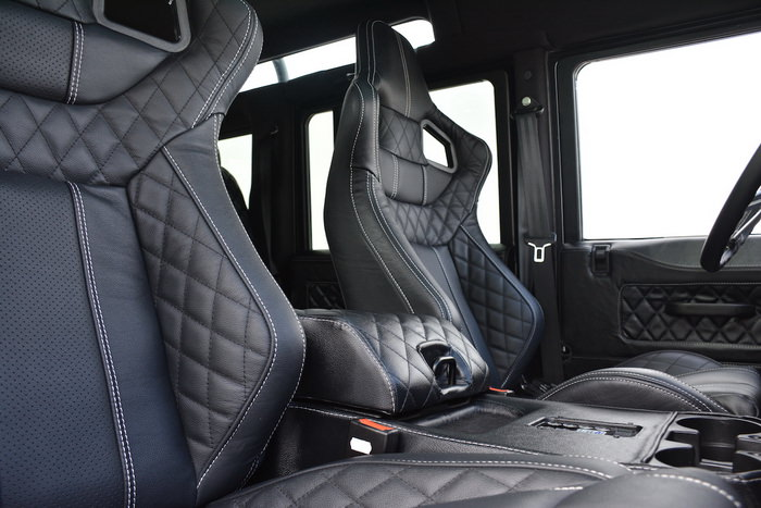 east coast defender beast interior