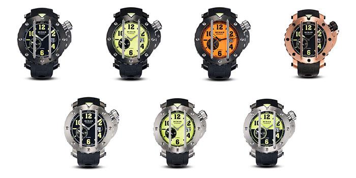 Modele ceasuri Buran Stingray