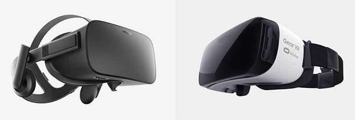 Modele Oculus Rift