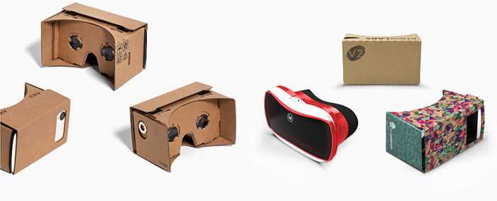 Modele viewer Google Cardboard
