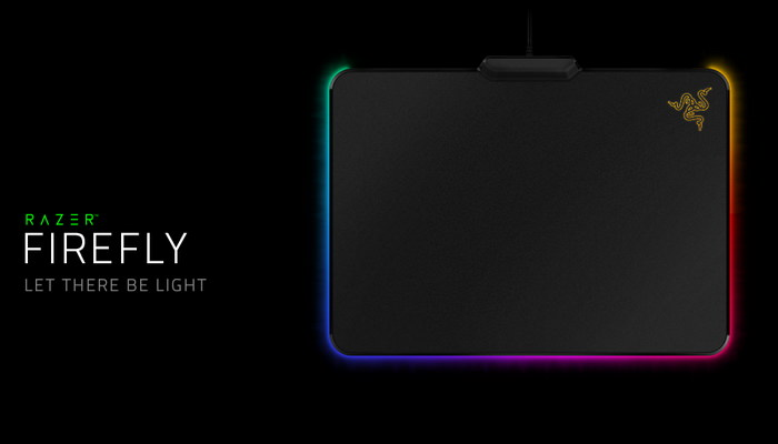 razer firefly mouse pad gaming