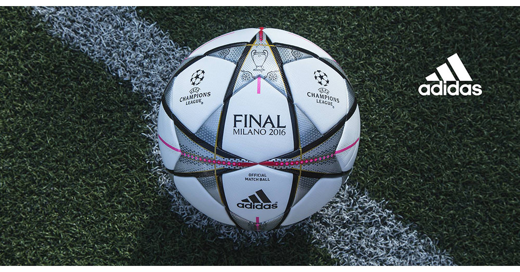 Adidas Finmilano Omb AC5487 – mingea finalei UCL 2016