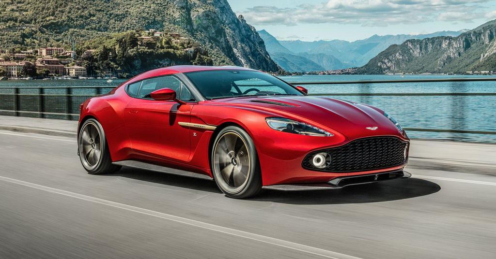 Aston Martin Vanquish Zagato: echilibru intre lux si putere