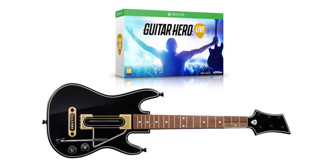 Guitar Hero Live pentru Xbox ONE te transforma intr-un rockstar