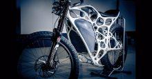 Light Rider prima motocicleta electrica printata 3D
