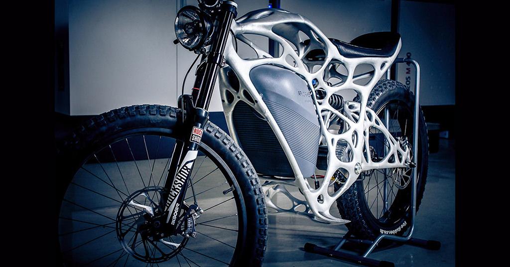 Light Rider – prima motocicleta electrica printata 3D de la Airbus