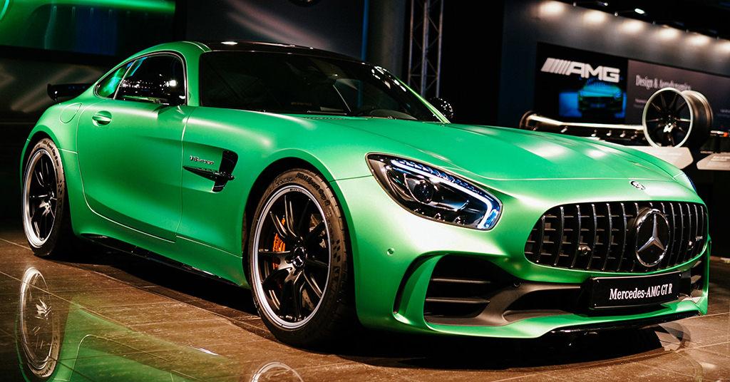 Noul Mercedes-AMG GT R iti taie rasuflarea