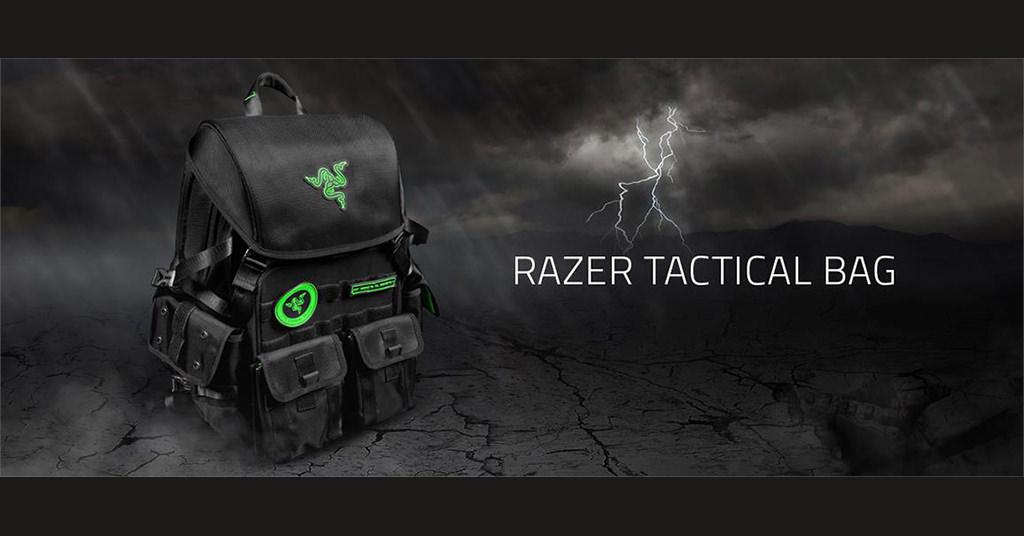 Razer Tactical Pro – rucsacul de laptop pentru gamerii adevarati