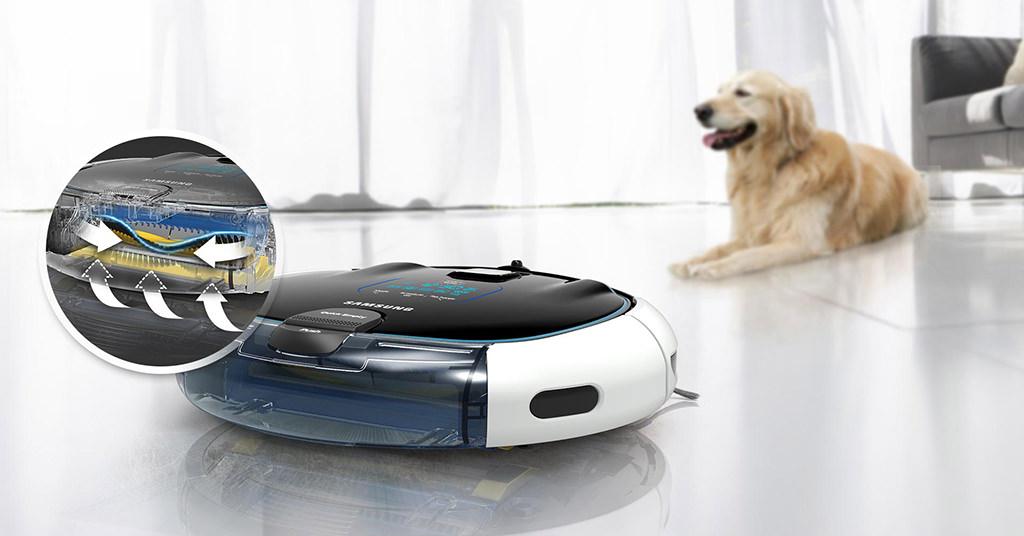 Samsung VR5051  – aspiratorul care curata singur