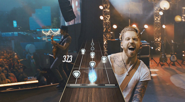 Scena Guitar Hero Live