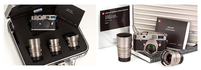 Set Leica M7 Titanium Edition Kit