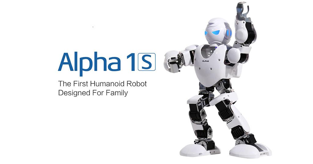 UBTech Alpha 1S – robotul interactiv pentru toata familia