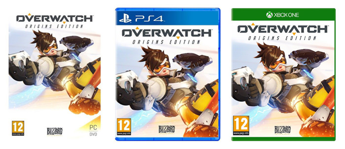 Variante PC PS4 Xbox One joc Overwatch