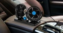 AboveTEK Dual Head Car Fan