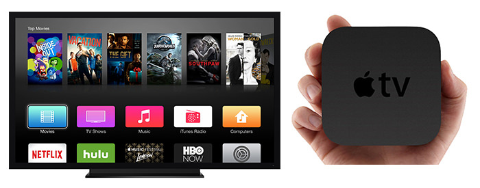 Apple TV aplicatii