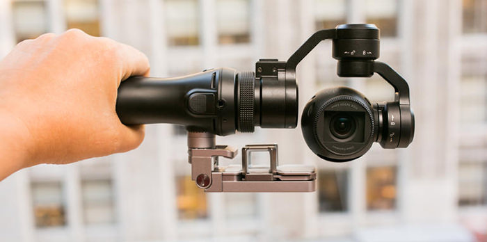 Camera filmat DJI OSMO