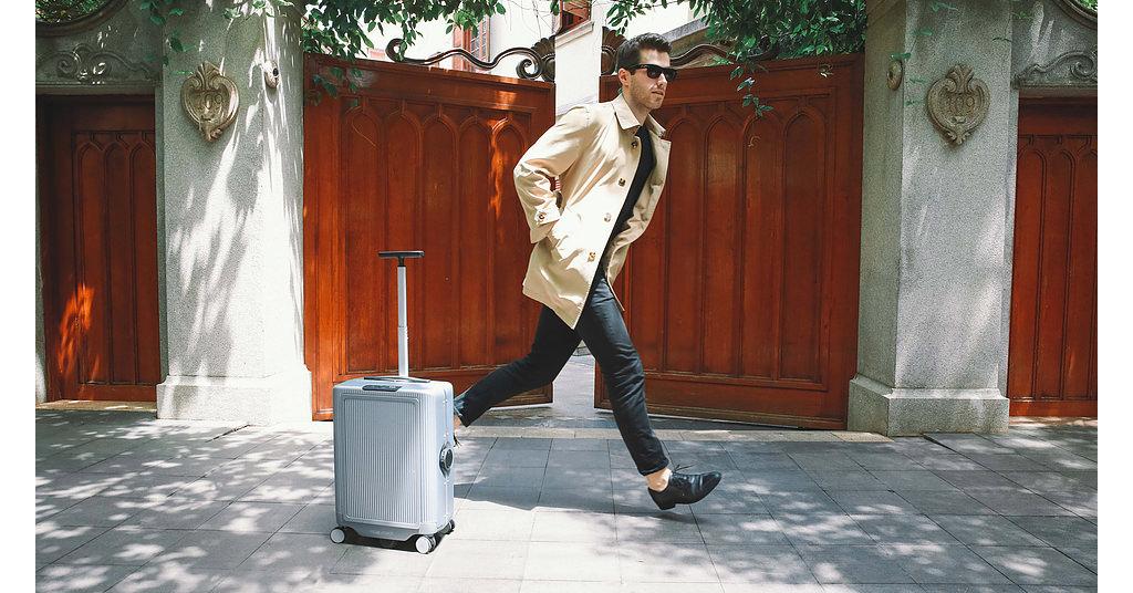 Cowarobot R1 este geanta de voiaj care se transporta singura