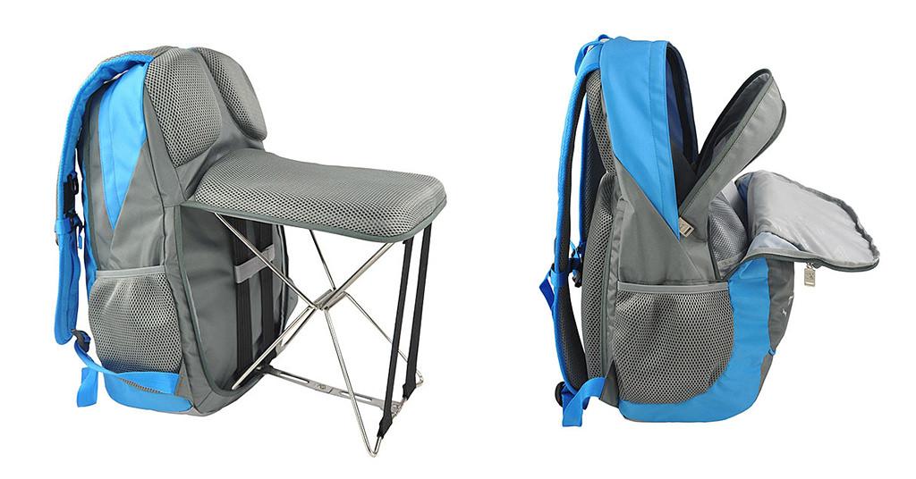 ECAMP001300 – rucsacul ce devine scaun pliabil