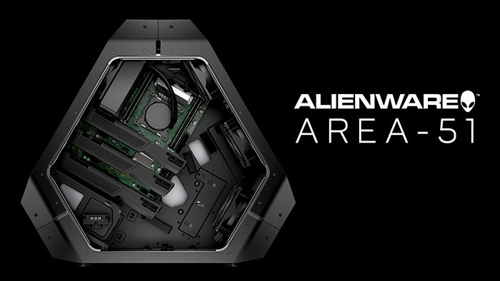 Interior Dell Alienware Area 51