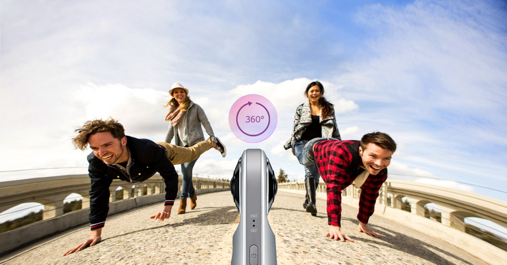 Imagini si videoclipuri la 360 de grade cu LG 360 Cam