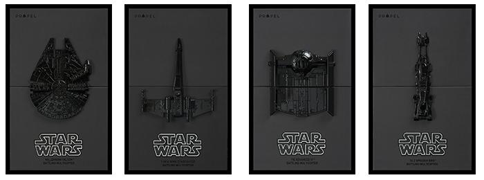 Modele Star Wars Battle Drones