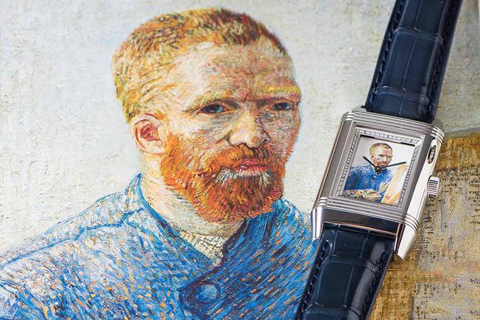 Model Jaeger LeCoultre Reverso Van Gogh Tribute