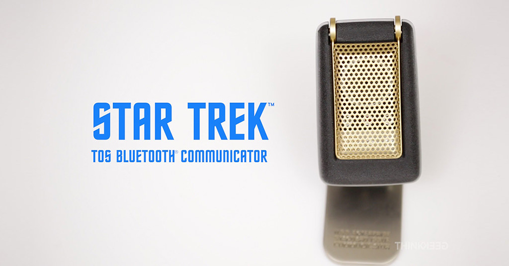 Star Trek: TOS Bluetooth Communicator – beam me up, Scotty!