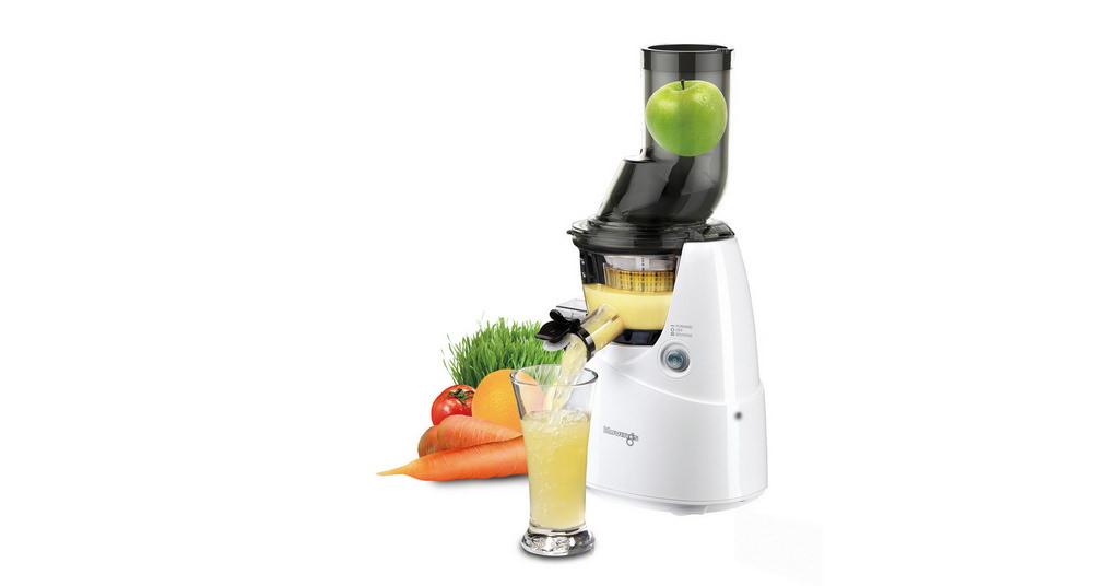Storcatorul Kuvings B6000W extrage toti nutrientii din fructe si legume