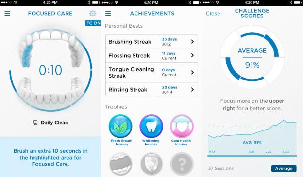 Aplicatie Oral-B Genius
