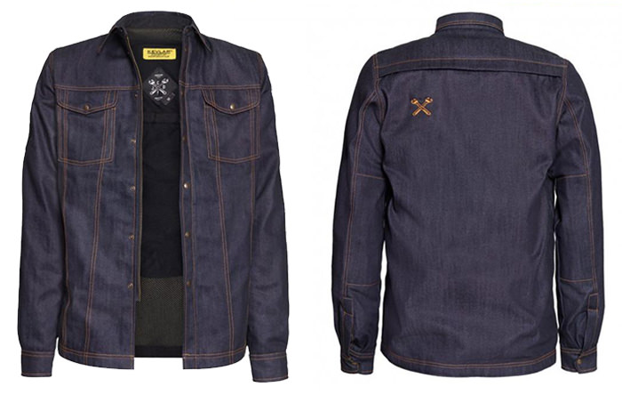 Camasa John Doe Lumberjack Kevlar Denim Raw