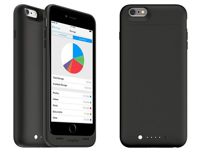 Carcasa Mophie Space Pack