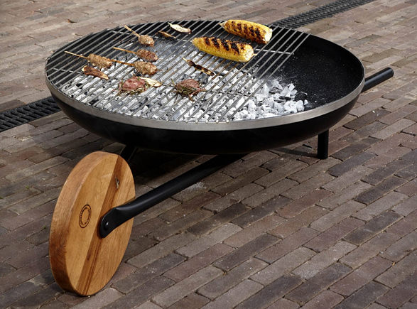 Gratar Wheelbarrow Barbecue