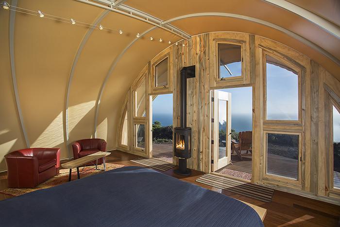 Interior Autonomous Tent