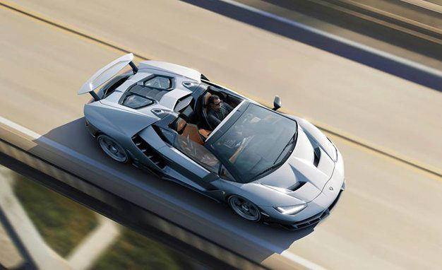 Lamborghini Centenario Roadster sus