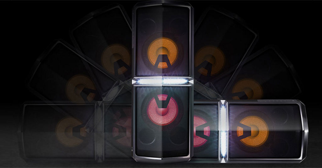 LG X-BOOM Freestyler da startul la petrecere!