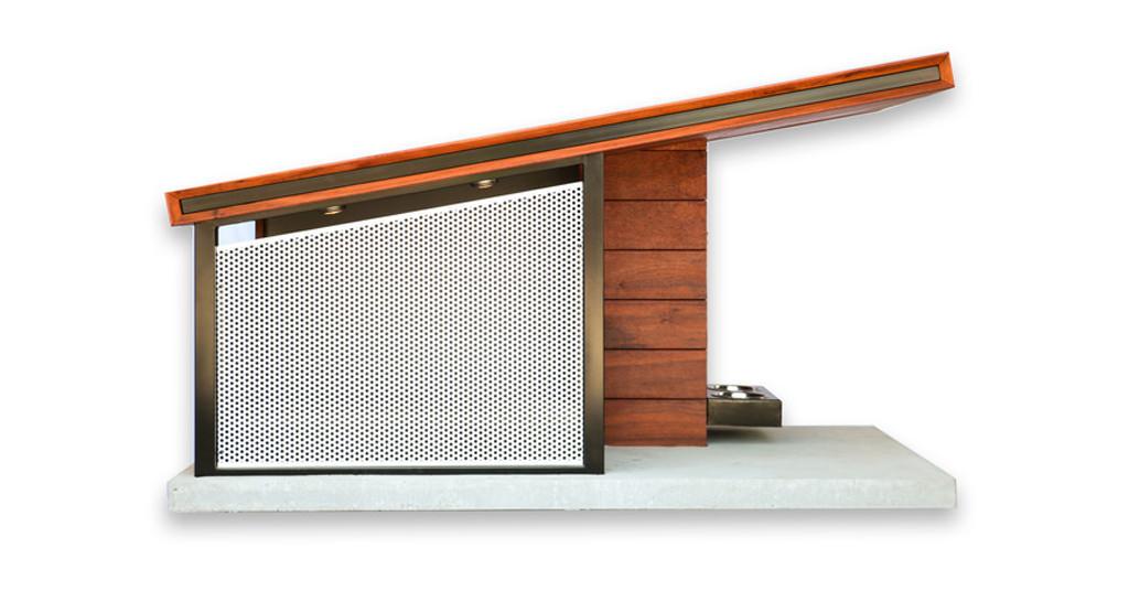 MDK9 Dog Haus – o casa moderna pentru cainele tau