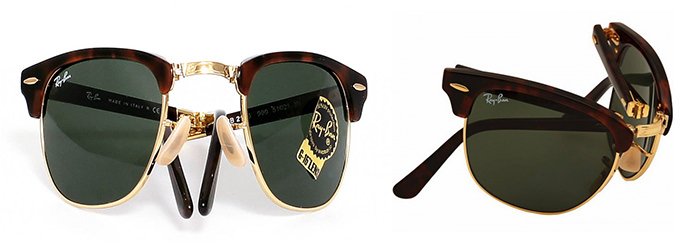 Mecanism pliere Ray-Ban Clubmaster folding RB 2176