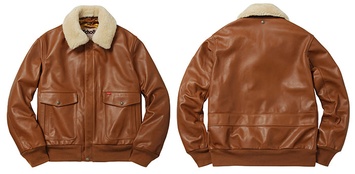 Supreme A-2 Flight Jacket maro