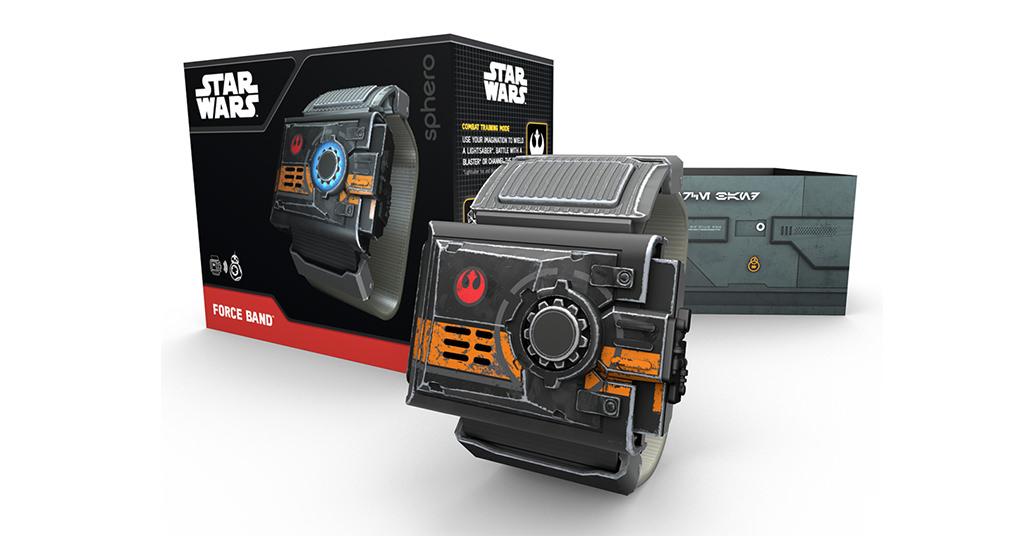 Cu bratara Star Wars Force poti controla roboteii Sphero de la distanta