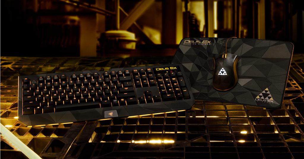 Deus Ex Razer – colectia de periferice pentru fanii dedicati ai seriei