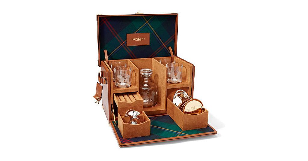 Kipton Mixologist Box – un set pentru bauturi semnat Ralph Lauren