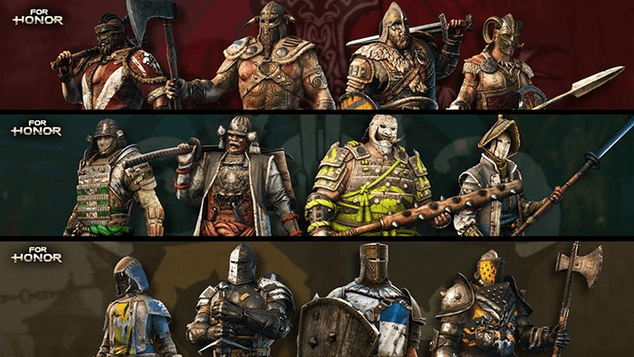 Caractere For Honor