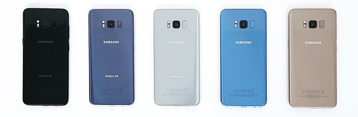 Samsung Galaxy S8 si S8 Plus culori